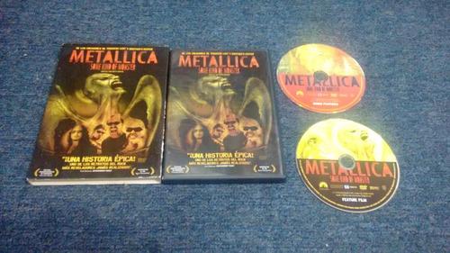 dvd metallica some kind of monster en formato dvd