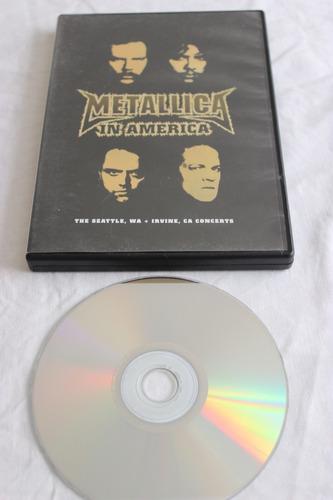 dvd metalliva en vivo in america seattle 1999