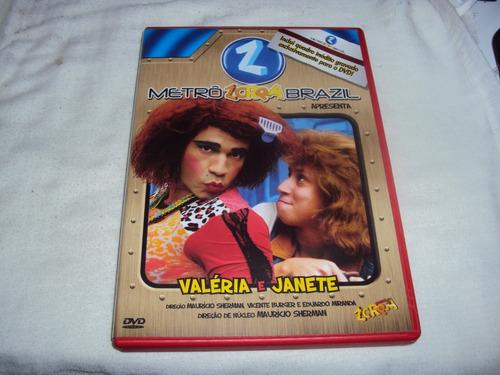 dvd metro zorra total brazil apresenta valeria e janete e7b4