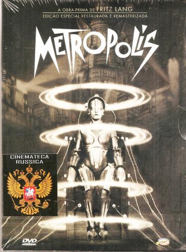 dvd metropolis,  fritz lang, com brigitte helm, 1927 mudo  +