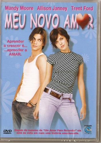 dvd meu novo amor - novo***
