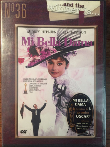 dvd mi bella dama / my fair lady