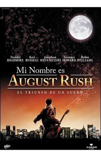 dvd mi nombre es august rush de kirsten sheridan