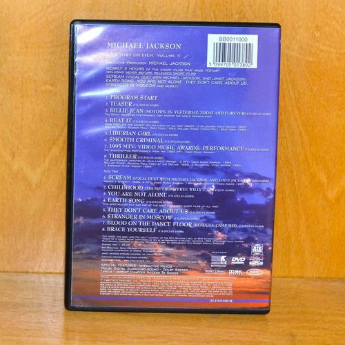 dvd michael jackson - history on film vol.2 'original'