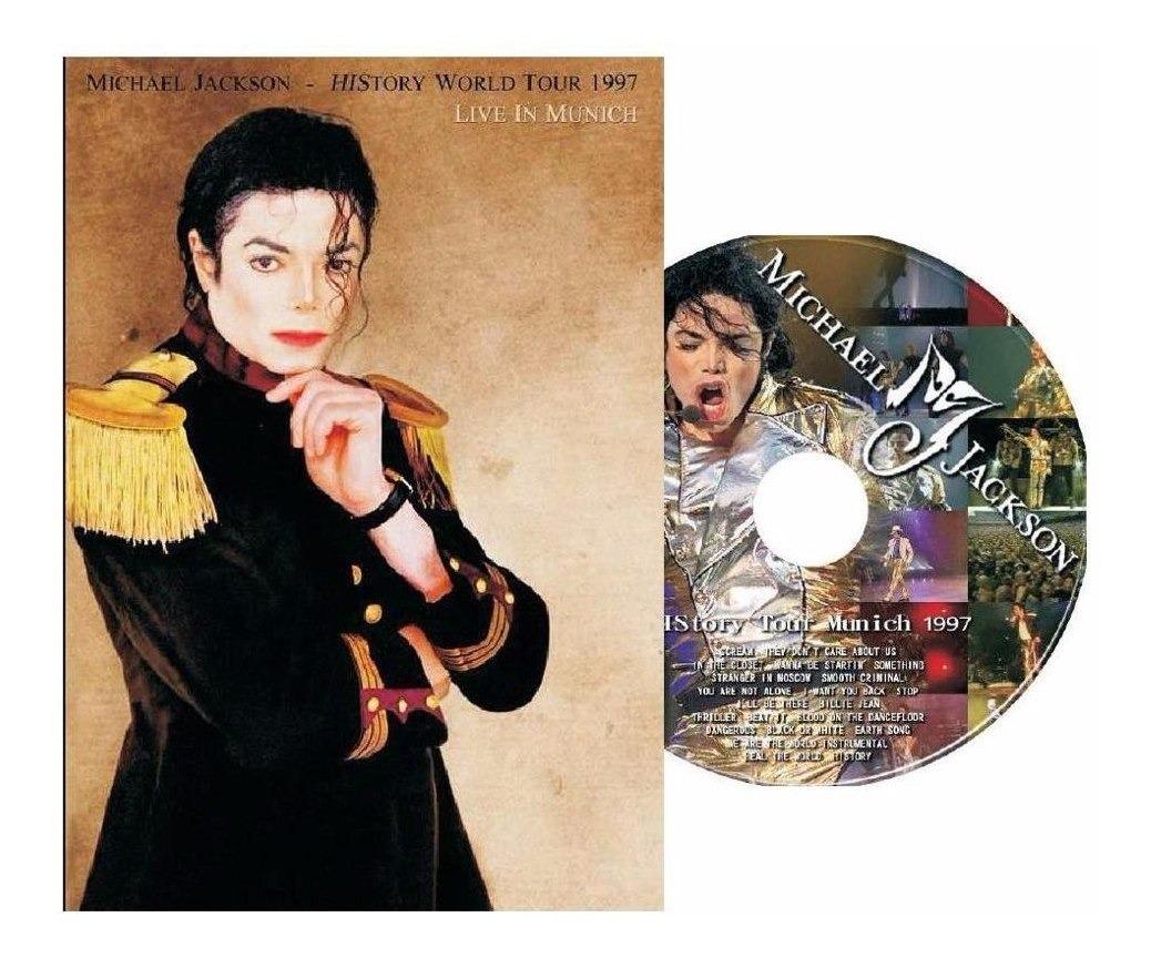 Dvd Michael Jackson Live In Munich History World Tour 97