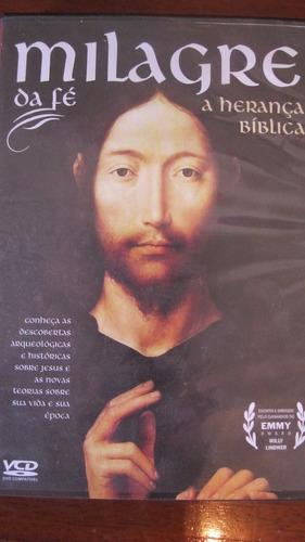 dvd milagre da fé a herança bíblica