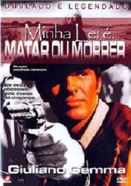dvd - minha lei é matar ou morrer - giuliano gemma