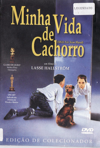 dvd minha vida  de cachorro - edição de colecionador
