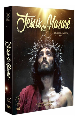 dvd minisserie jesus de nazare (1977) - opc - bonellihq d19