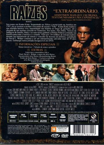 dvd minisserie raizes - world classics - bonellihq m20