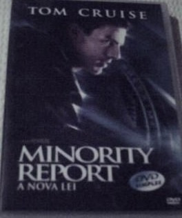 dvd - minority report - a nova lei
