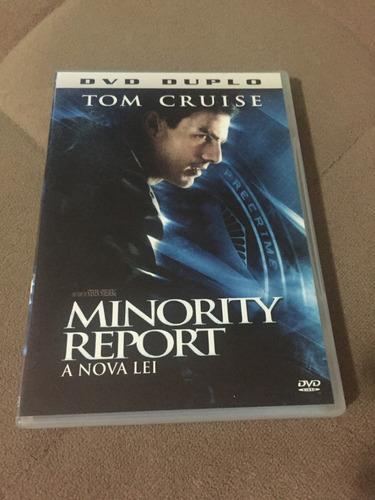 dvd minority report- a nova lei- duplo, com tom cruise