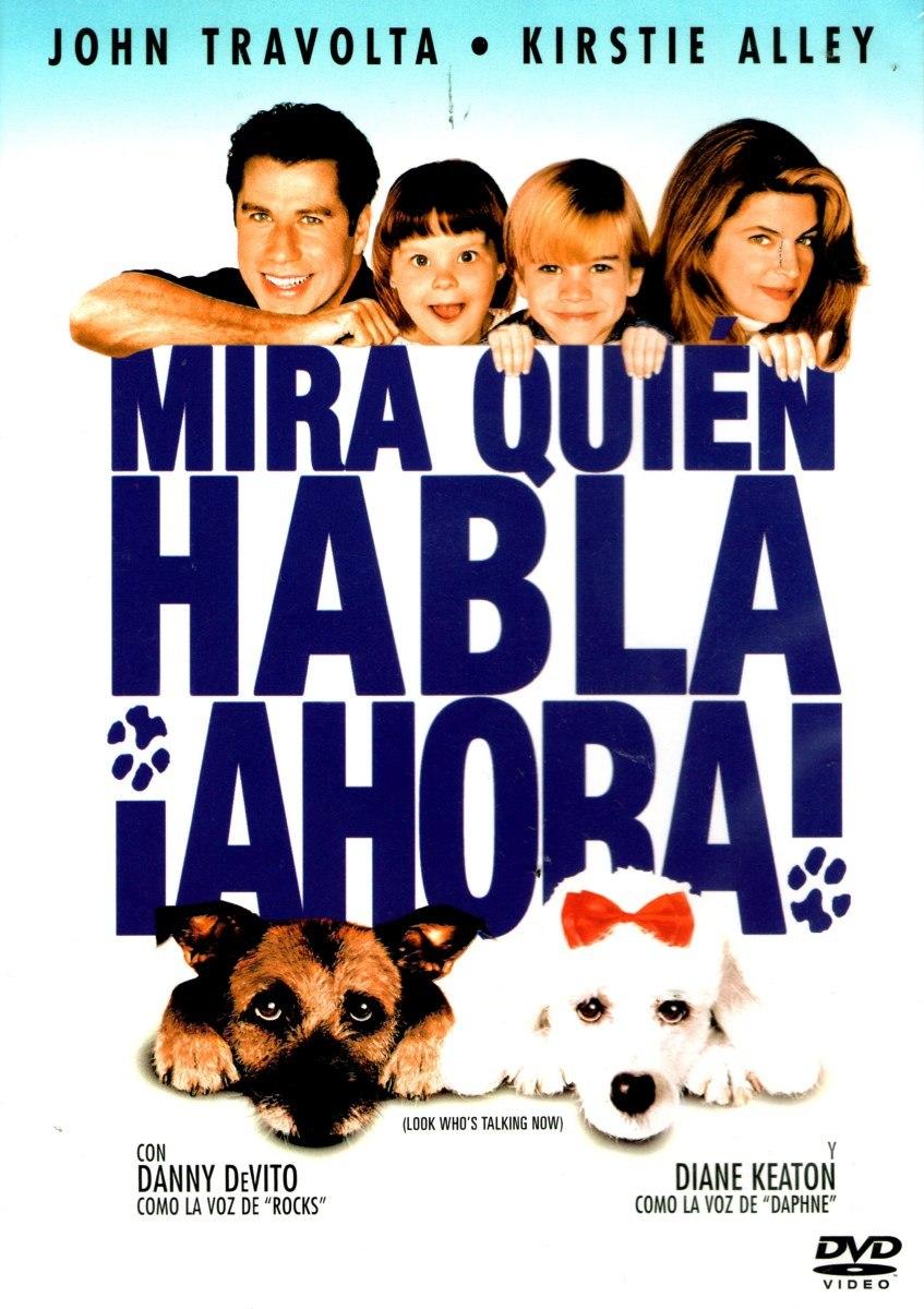Dvd Mira Quien Habla Ahora (look Who`s Talking Now) 1993