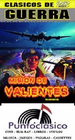 dvd - misión de valientes