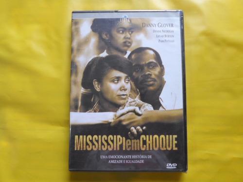 dvd mississipi em choque / danny glover / novo