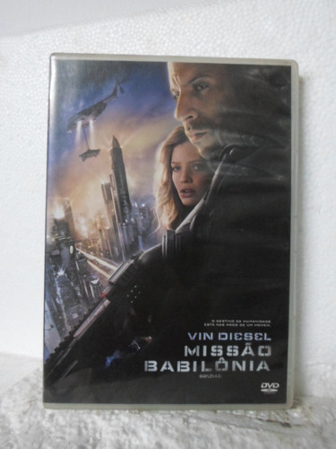 dvd missão babilonia - original