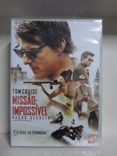 dvd missão impossivel 5 - lacrado