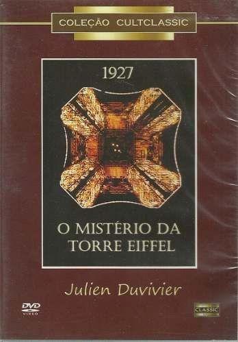 dvd - misterio da torre eiffel