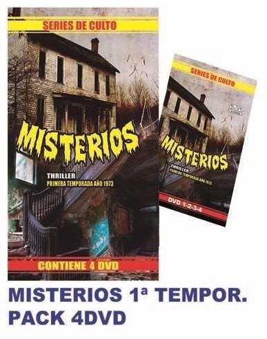 dvd - misterios - primera temporada