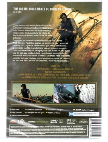 dvd moby dick - classicline - bonellihq i19