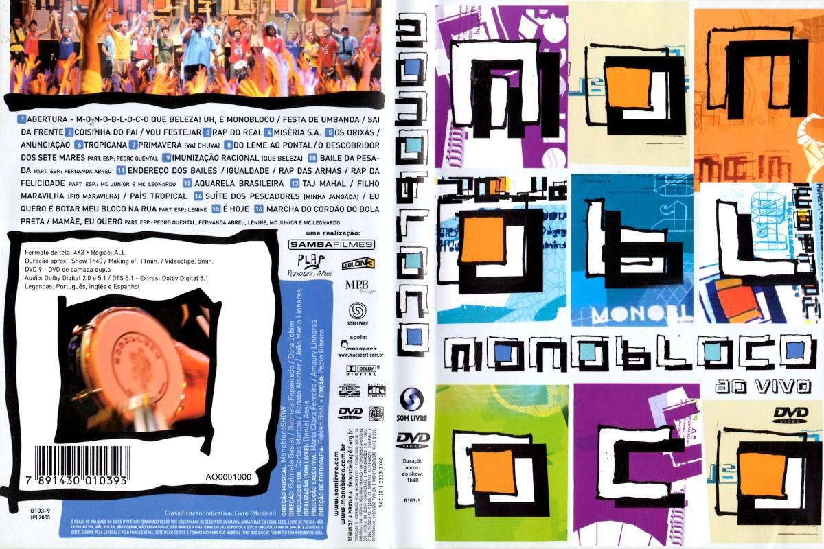 dvd da banda monobloco