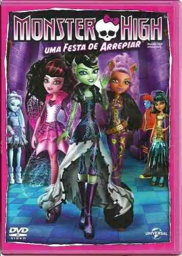 dvd - monster high - uma festa de arrepiar