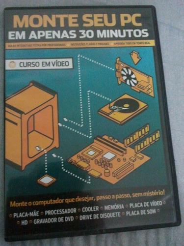 dvd - monte seu computador