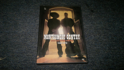dvd montgomery gentry you do your thing en formato dvd,checa