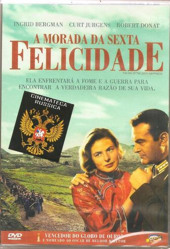 dvd morada da sexta felicidade, com ingrid bergman,  1958 +