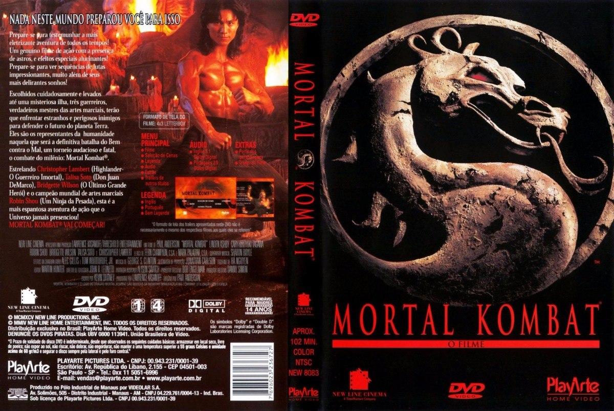 Dvd Mortal Kombat (1995) - Dublagem Clássica Da Tv - R$ 34,47 em ...