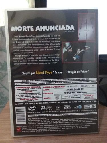dvd morte anunciada charlie sheen albert pyun