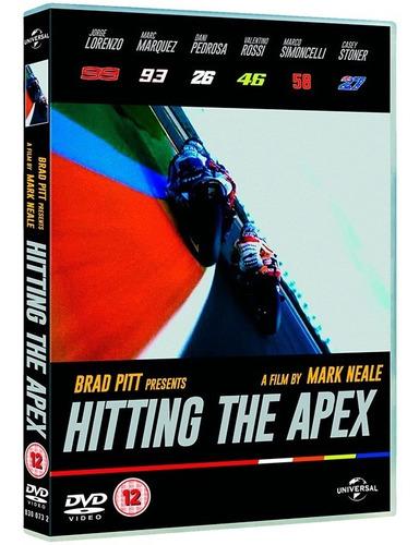 dvd motogp hitting the apex - a curva perfeita