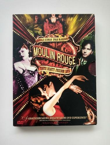 dvd mouling rouge 2 disc   pack de coleccion original