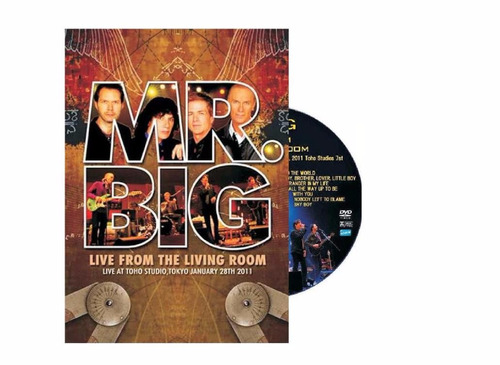 Superior Dvd   Mr. Big Live From The Living Room Part 21