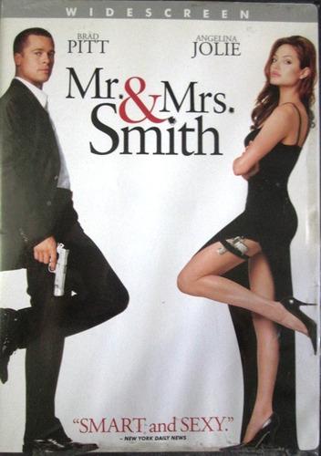 dvd mr y mrs smith - brad pitt - angelina jolie
