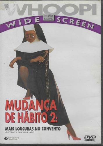 dvd mudança de hábito 2: mais loucuras no convento - lacrado