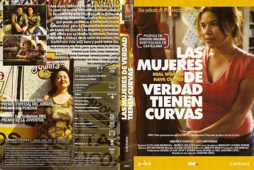 dvd mujeres verdaderas tienen curvas real women have curves