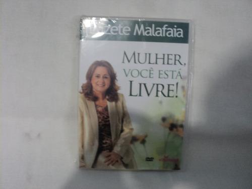 dvd-mulher voce está  livre-pra.elizete malafaia.