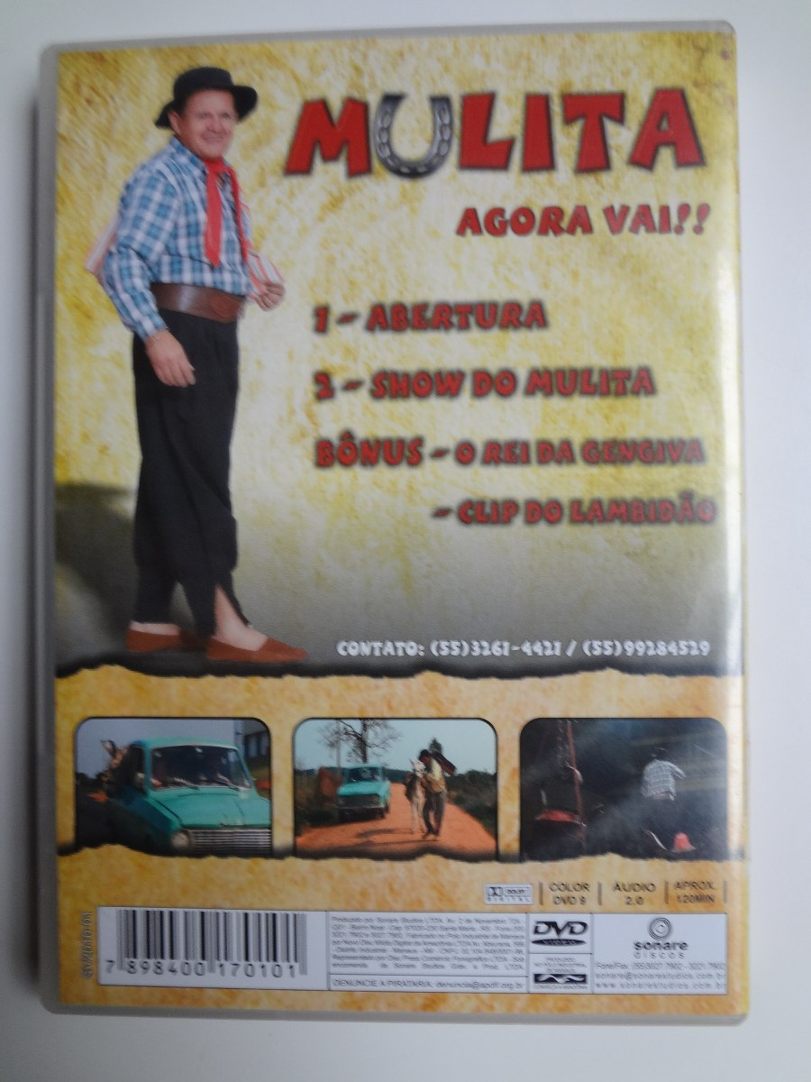dvd mulita 2