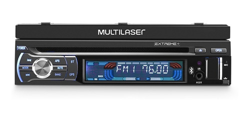 dvd multilaser extreme gps tv digital bluetooth usb gp044