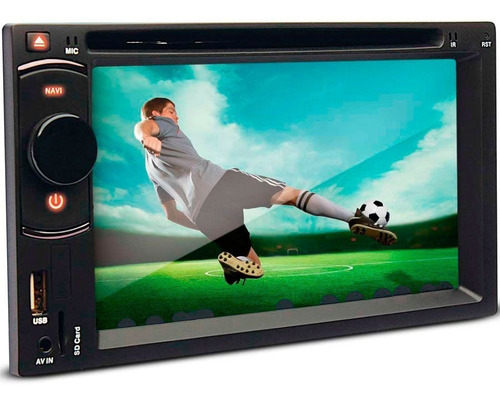 dvd multimidia dazz dz-52216 bt 6.2 cd usb touch screen tv