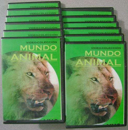 dvd mundo animal dvd -  coleccion en 12 dvd