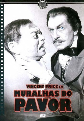 dvd muralhas do pavor (vincent price)