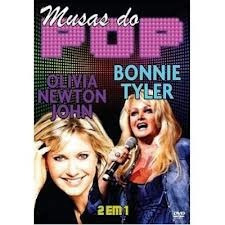dvd musas do pop - olivia newton john e bonnie tyler