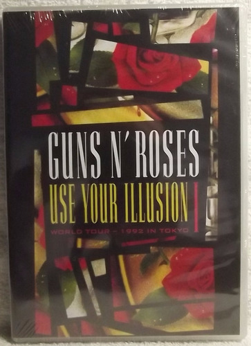 dvd música: guns n' roses - use your illusion 1 tokyo 1992