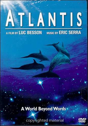 dvd musical atlantis - luc besson