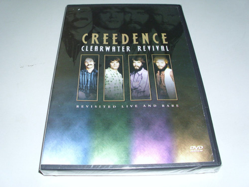 dvd musical creedence clearwater revival live and rare