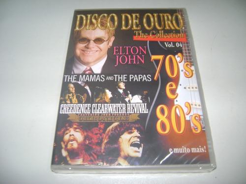 dvd musical disco de ouro the collections vol 4 ! original !