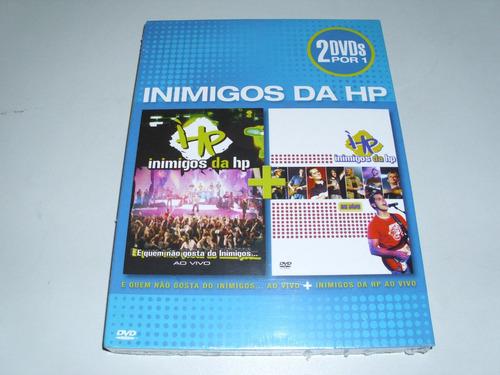 dvd musical duplo inimigos da hp ! original !