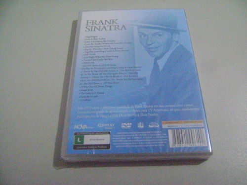 dvd musical frank sinatra rare broadcasts on